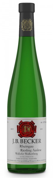 J.B. Becker Wallufer Walkenberg Riesling Auslese 2009